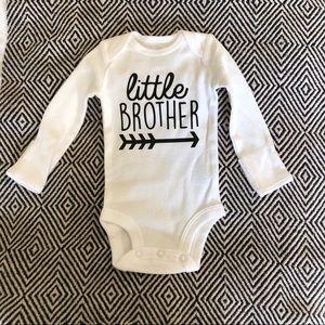 Other - NWOT little brother newborn onesie